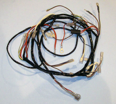 Lucas BSA B25 B44 1968-70 Wiring Harness